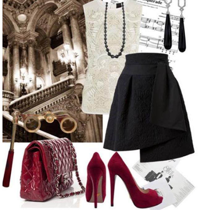 Chân Váy Cách điệu Thời Trang Newlux Fashion