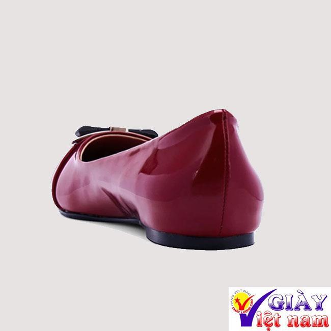 Giày búp bê nữ nơ mũi thanh lịch, giày búp bê, giay bup be, giày đế bệt, giay de bet, giày nữ đẹp, giay nu dep, giày nữ, giay nu, giày giá sỉ, giay gia si, giay viet nam