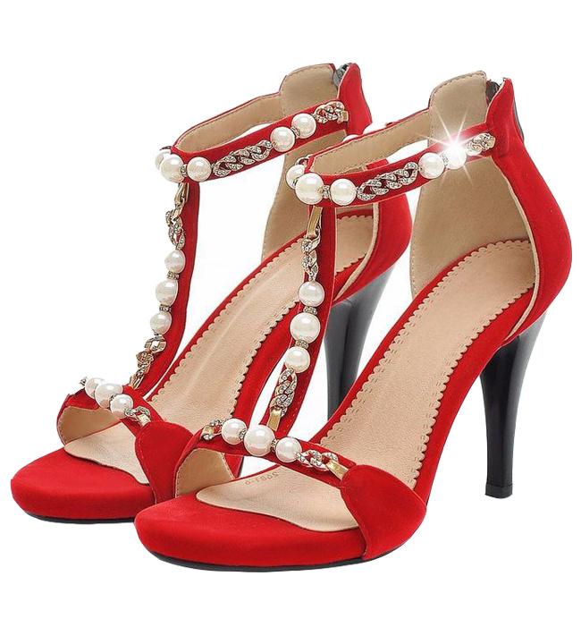 Giày Cao Gót đính Ngọc Trai, giay nu, giày nữ, giày cao gót, giay cao got, giày nữ đẹp, giay nu dep, giay nu cao cap, giày nữ cao cấp, giày sandal nữ, giay sandal nu, giay viet nam, sieu thi giay