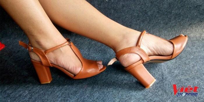 Giày cao gót hở mũi Bitas, giày cao gót, giay cao got, giày nữ đẹp, giay nu dep, giày nữ, giay nu, giày tăng chiều cao, giay tang chieu cao, giày giá sỉ, giay gia si, giay viet nam