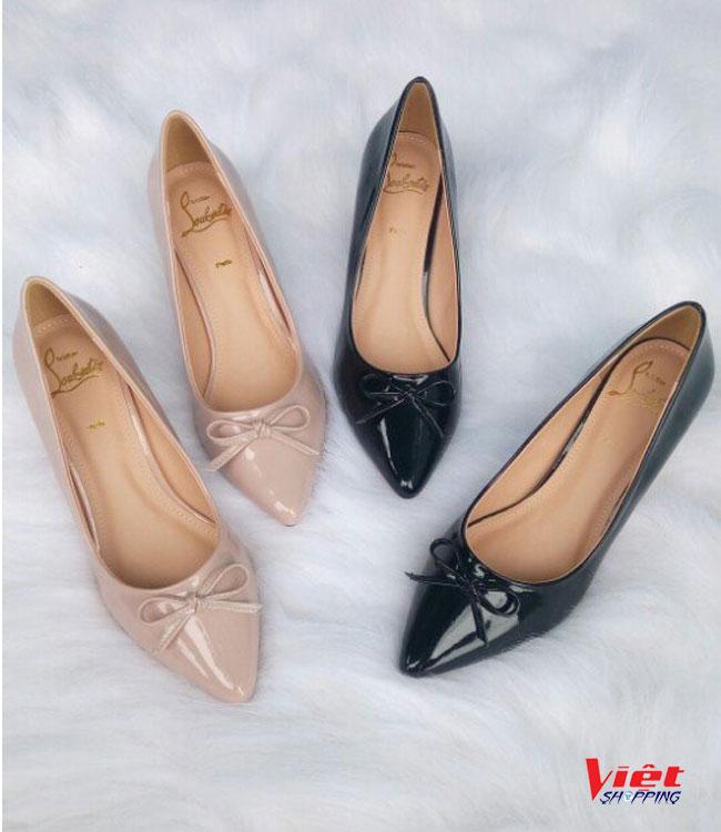 Giày Công Sở Nữ Gót Nhũ Vàng, giày cao gót, giay cao got, giày công sở nữ, giay cong cong so nu, giày công sở, giay cong cong so, giày nữ đẹp, giay nu dep, giày nữ, giay nu, siêu thị giày, sieu thi giay
