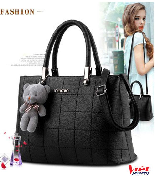 Túi xách nữ Minmin kèm gấu