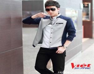 Áo Jacket Nút Cài Hàn Quốc