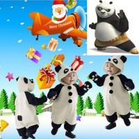 Áo Liền Quần Hình Gấu Trúc Panda