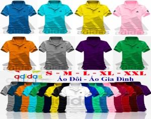 Áo Thun Nữ Adidas Cổ Bẻ VNXK
