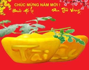 Dưa Hấu Thỏi Vàng Chữ Việt