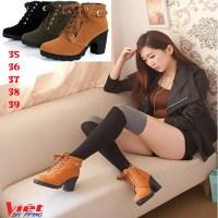 Giày Boot Cao Gót Hongkong