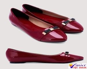Giày búp bê nữ nơ mũi thanh lịch