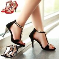 Giày Cao Gót đính Ngọc Trai -CG002