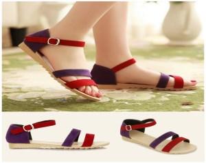 Giày Sandal nữ Quai Nhung