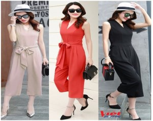 JUMPSUIT ACE CỔ TIM